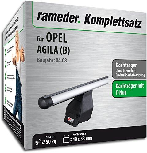 Rameder Komplettsatz, Dachträger Tema für Opel AGILA (118769-06440-17)