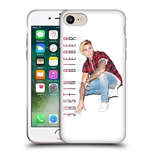 Offizielle Justin Bieber Albumcover Purpose Soft Gel Hülle für Apple iPhone 6 / 6s Fotokalender Und Text