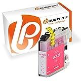 Bubprint Druckerpatrone kompatibel für Brother LC-123M LC123M LC 123 für MFC-J4510DW MFC-J470DW MFC-J6520DW MFC-J6720DW MFC-J6920DW MFC-J870DW Magenta