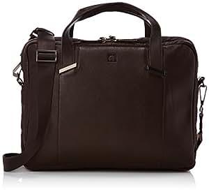 DELSEY Cartable Haussmann 12 L Marron (Marron Foncé/Brun) 001183161