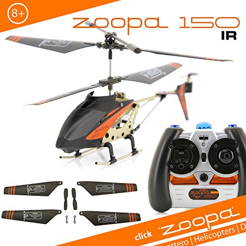 Acme United AirAce AA0150 - Elicottero, Zoopa 150 IR