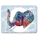 LIUYUNE,Juego de Goma Antideslizante Gulov Elephant Mouse Pad(Color:Multi)