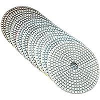 Almohadilla pulidora de 12,7 cm 50-6000, disco de lijado para mármol, hormigón, granito, vidrio