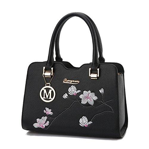 Dame National Wind Handtasche Umhängetasche Stickerei Casual Handgelenk Tasche Temperament Elegant Fashion Trendy Handtasche A