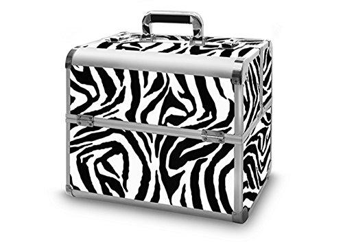 Valigetta in alluminio deluxe-Mobiles studio 04 Zebra Design 365 x 225 x 355 mm
