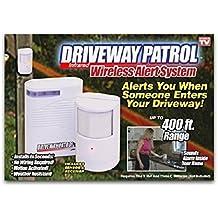 Infrared Wireless Alarm System Motion Sensor Driveway Patrol Alert 1.2 M Range by U.S. Patrol