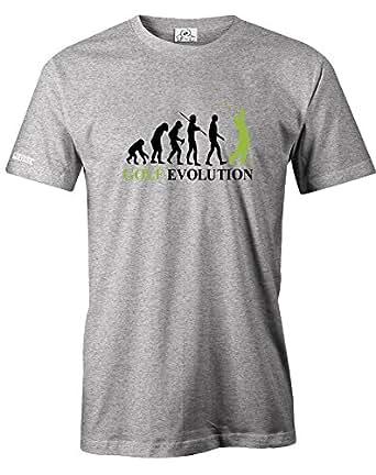 Jayess Golf Evolution - Herren - T-Shirt in Grau Meliert by Gr. S