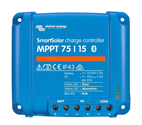 Victron SmartSolar MPPT Laderegler 75/15 12V 24V 15A Solarladeregler Bluetooth integriert