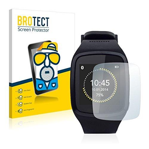 2X BROTECT Matt Bildschirmschutz Schutzfolie für Mykronoz ZeSplash (matt - entspiegelt, Kratzfest, schmutzabweisend)