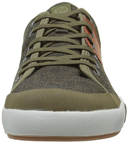 Merrell Rant Lace, Baskets Basses Homme Vert (Dark Olive)