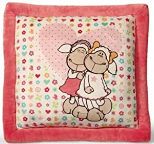 NICI Jolly Amy and Frances Sheep Square Printed Cushion