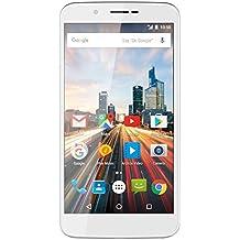 Archos 503256 55 Helium 16 GB Smartphone ohne SIM-Lock (14 cm (5,5 Zoll) HD IPS Display, LTE/4G, 8MP Kamera, 16GB Speicher, 1GB RAM, 4-Kern Prozessor 1,3 GHz, Dual-SIM, Android 6.0) polar weiß