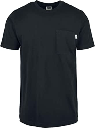 Urban Classics Men's Organic Cotton Basic Pocket Tee T-Shirt