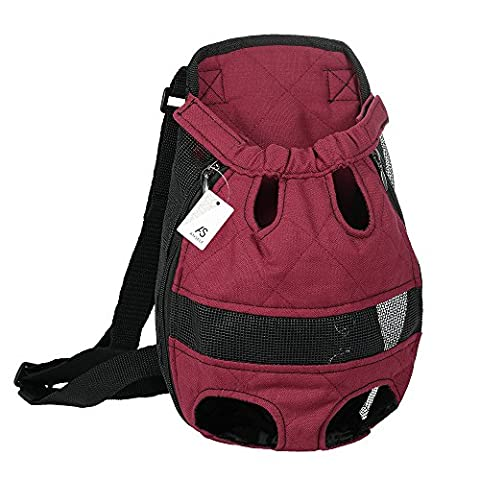 Anself Cute Pet Bag Dog Cat Carrier Backpack for Outdoor
