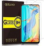 QULLOO Pellicola Vetro Temperato per Huawei P30 Lite/Huawei P30 Lite New Edition, Trasparente ad Alta Definizione…