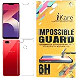 Sajni Creations Ikare Impossible Oppo A3s Front and back Tempered Screen Guard , Strong Plastic Fibre Unbreakable Flexible impossible Tempered Screen Guard Protector for Oppo A3S - Transparent (does not cover the edges)
