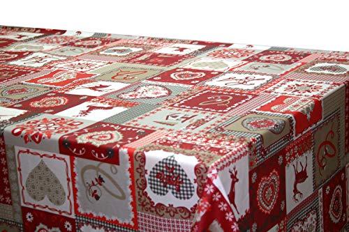 Montse Interiors, S.L. Mantel Antimanchas Navidad