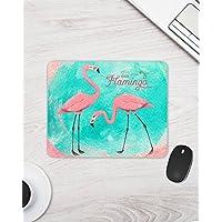 Flamingo Mauspad (Mousepad) / Mauspad mit Motiv Flamingo / Flamingomotiv