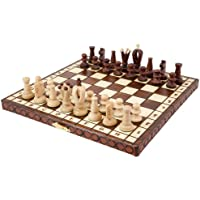 Albatros wooden chess game SAN MARCO - field size ca.: 30 x30 mm