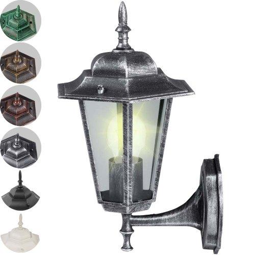 Oramics 994994 Lampe Laterne, silber, 35 x 21 x 21 cm