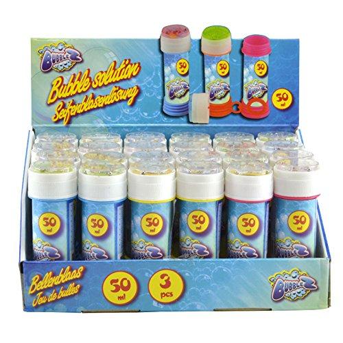24er Set Seifenblasen im Display Mitgebsel Mitbringsel Bubbles
