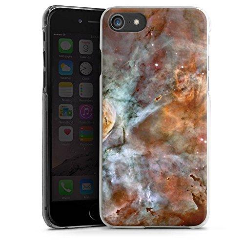 Apple iPhone X Silikon Hülle Case Schutzhülle Universum Space Muster Hard Case transparent