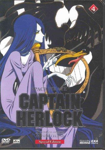 Preisvergleich Produktbild Captain Herlock The Endless Odys (ep.11-13) Volume 04 [IT Import]