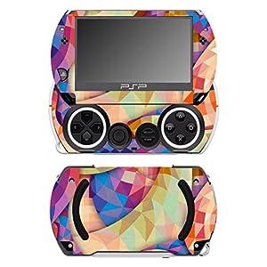 Disagu SF-14232_1231 Design Schutzfolie für Sony PSP Go – Motiv Abstrakt 02″ klar