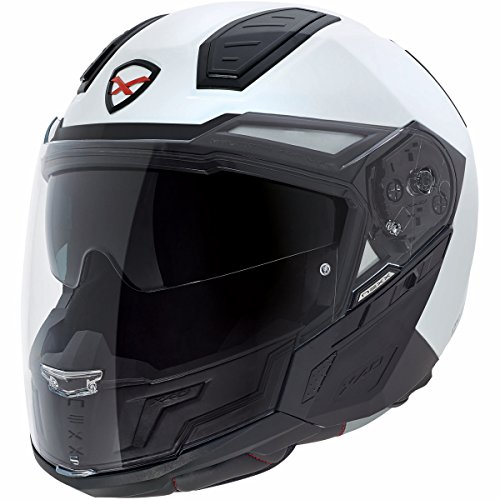 Preisvergleich Produktbild Motorrad Nexx X40 Uni Helm – Weiß,  UK Verkäufer