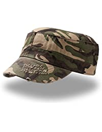 paracollo Hotty Camouflage grau Kopfh/örer Fleece M/ütze Tube Cap Bommel Cap Hute
