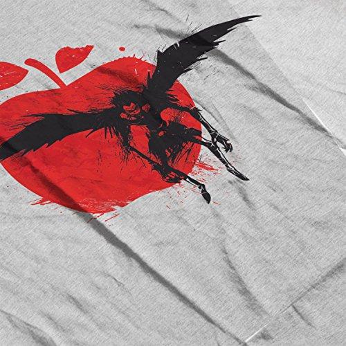 Red Sun Ryuk Death Note Men's Vest Heather Grey