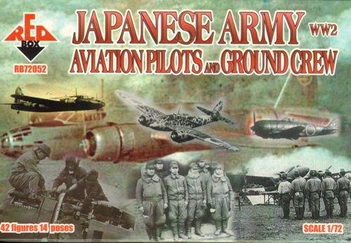 Redbox WW2 Japonesa de Aviación del Ejército Pilotos a.grcr (1:72)