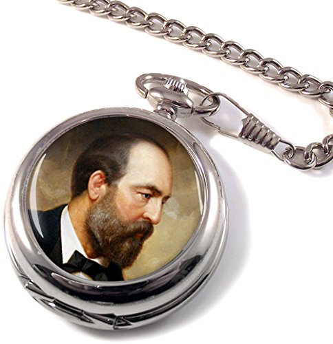 Präsident James Garfield Full Hunter Taschenuhr