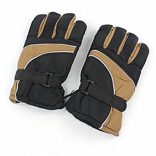Wasserdichtes Material Herren Ski Handschuhe Winter Outdoor Bergsteiger Reiten Farbe warme Handschuhe , khaki
