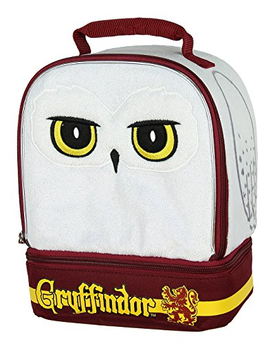 Harry Potter Hedwig die Eule Gryffindor House Dual Fach Isolierte Lunch Box Tasche