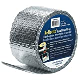 Reflectix SPW0602508 6-Inch by 25-Feet Spiral Pipe Wrap by Reflectix