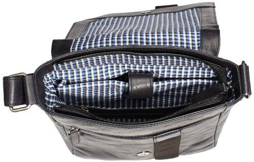 Bruno Banani Shoulder Bag BL 320.1294, Borsa a tracolla Donna Nero (Schwarz (schwarz)