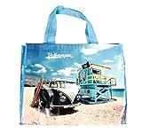 Bubble-Store Shopper Tasche mit Schultergurt, T1 Bus, Tragkraft max. 30 kg, Größe ca. 48 x 38 cm,...
