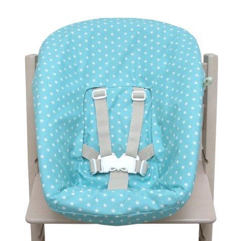 Blausberg Baby - Bezug für Stokke Newborn Set türkis Sterne