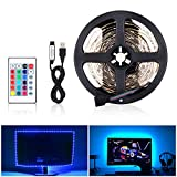LED Streifen Licht LED Stripes USB, 5050 RGB Flexible, 12V DC Lichtleisten, LED Band, Indoor Dekoration Streifen LED für TV Hintergründe Licht DIY Holiday Party Küche Auto Bar(5M 150LED)