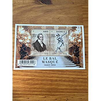 Timbre France 2012 Feuillet Collection Inclus Num 4706 et 4707 Neufs Op/éra Le Bal masqu/é