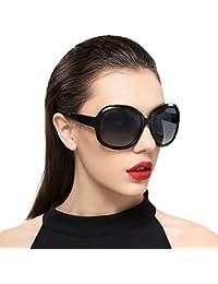 vivienfang polarisées lunettes de soleil carré Oversize Femme p1981 79654c39526b