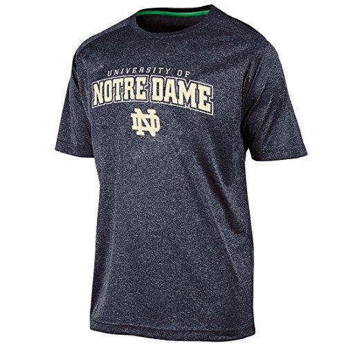 """Notre Dame Fighting Irish NCAA Champion """"Impact"""" Men's Performance S/S Shirt"""