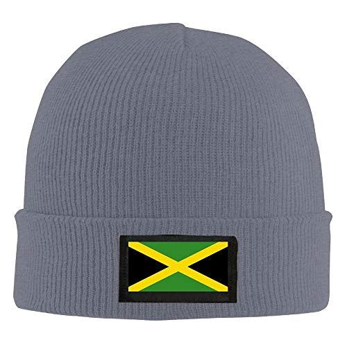 ghkfgkfgk Men Women Jamaican Flag Daily Beanie Hat Outdoor Skull Cap Warm Hat Knitted Beanies -