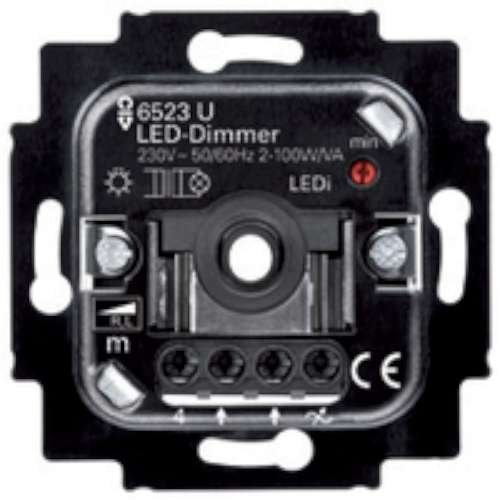 Niessen 8160.2 REGULADOR Giratorio LED (Universal)