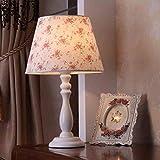 DEED Tischlampe-Persönlichkeit Einfache Schlafzimmer Nachttischlampe Moderne rustikale Holztisch Lampe Wohnzimmer Studie Lesen Nachtlicht