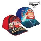 Disney Cars 2200002839 Cap, Baumwolle, Kinder, Lightning McQueen (Rot)