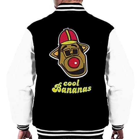 Cool Bananas Drooper Banana Splits Men's Varsity Jacket
