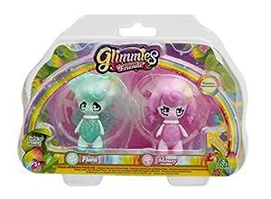 Glimmies-gln014-2Rainbow Friends 6cm-Modelos Flora/Mousy