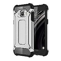 Microsonic 10760 Samsung Galaxy C7 Kılıf Rugged Armor, Gümüş